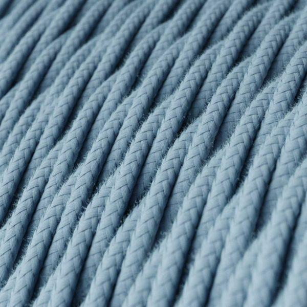 Fabric Braided Cable - Twisted Ocean