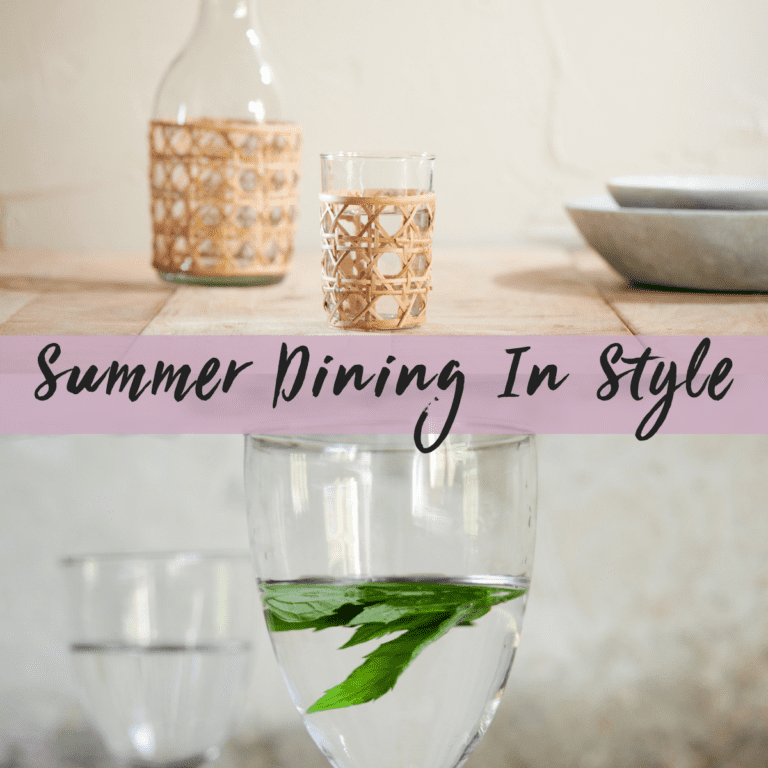 Summer Dining in Style!