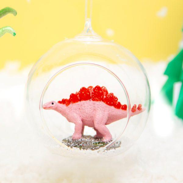 Roarsome Dinosaur Open Bauble Christmas Tree Decoration