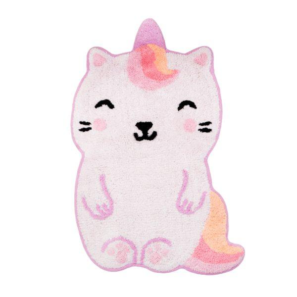 Luna Caticorn Children's Cotton Rug