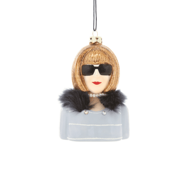 Anna Wintour Christmas Tree Decoration