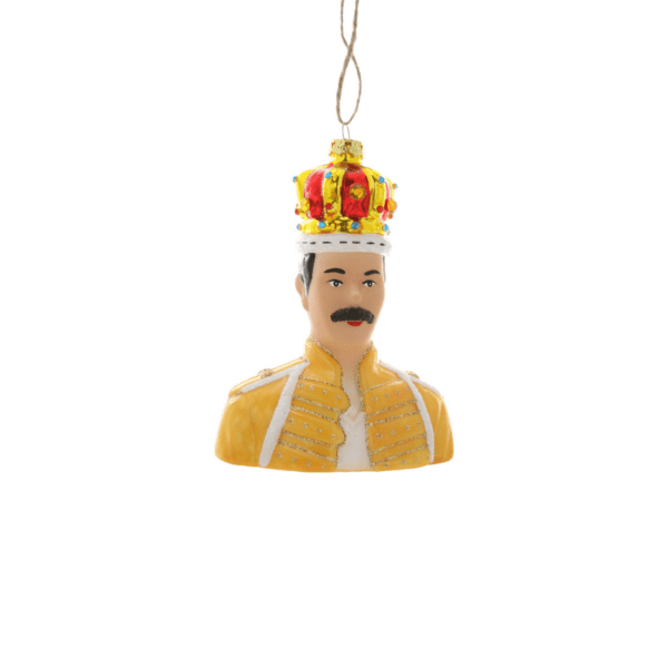 Freddie Mercury Christmas Tree Decoration