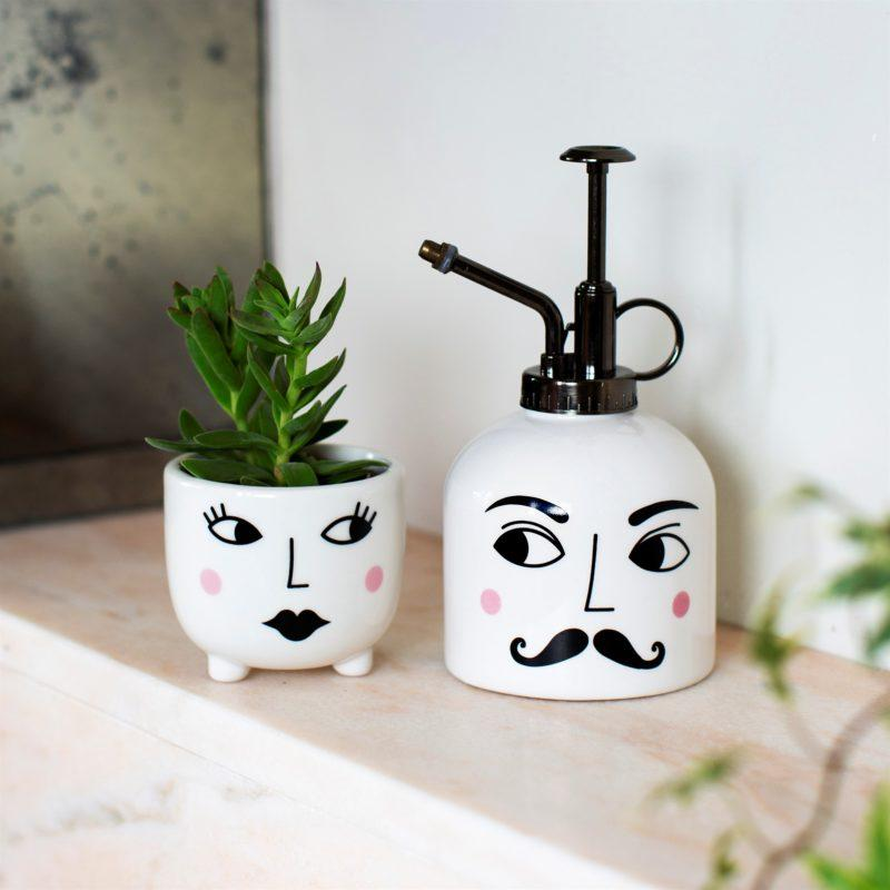 Mr & Mrs Plant Set