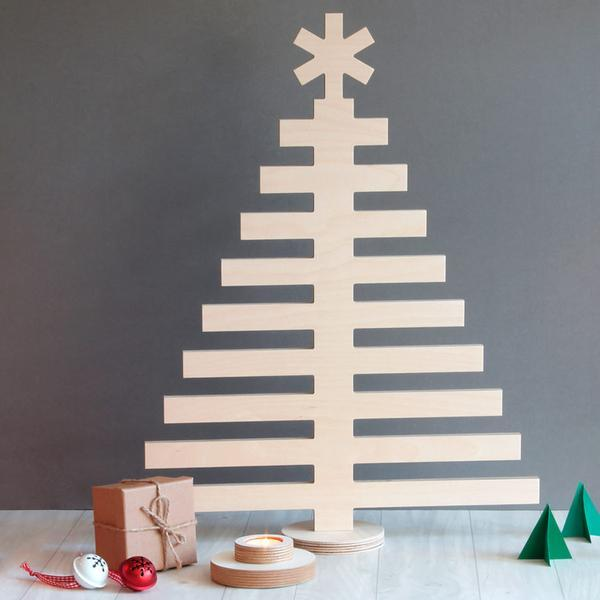 Plywood Christmas Tree Large
