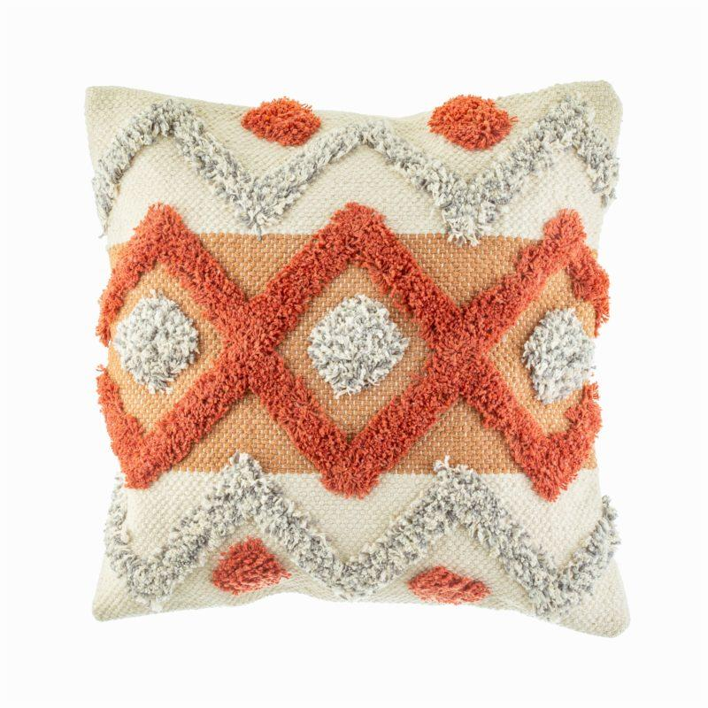 Tufted Arizona Geometric Cushion