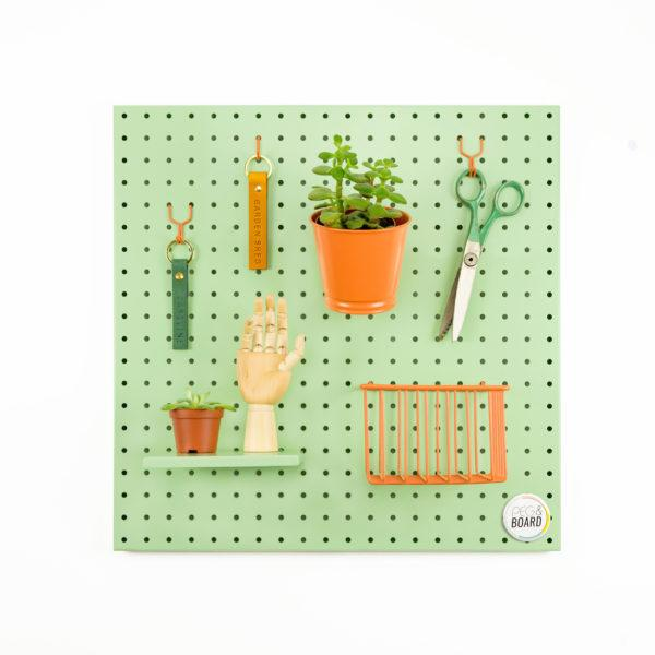 The 50 Metal Pegboard - Mint Green