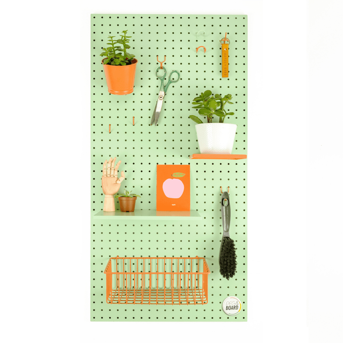 Eco Friendly Sustainable Birch Plywood Peg Board From The Gifted Few