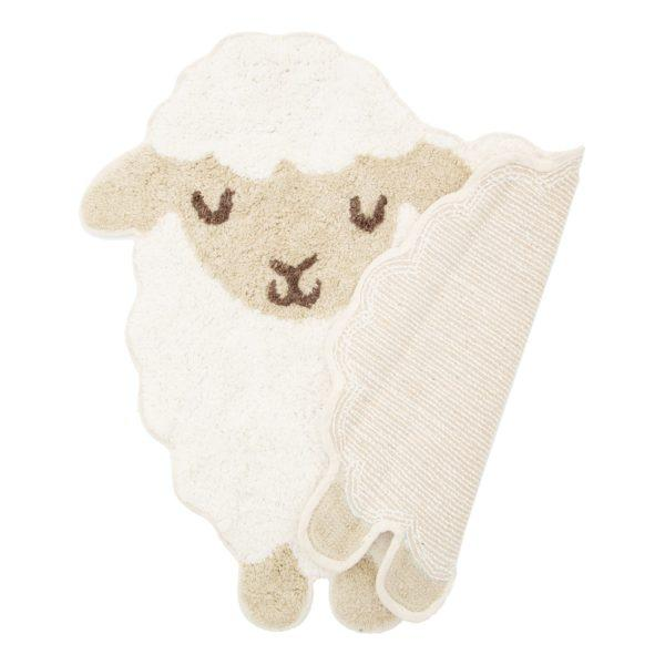 Baa Baa Lamb Children's Cotton Rug