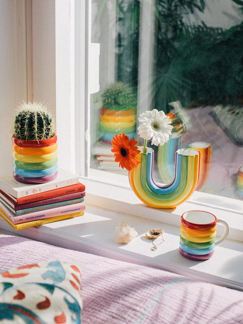 Rainbow Bubble Mug