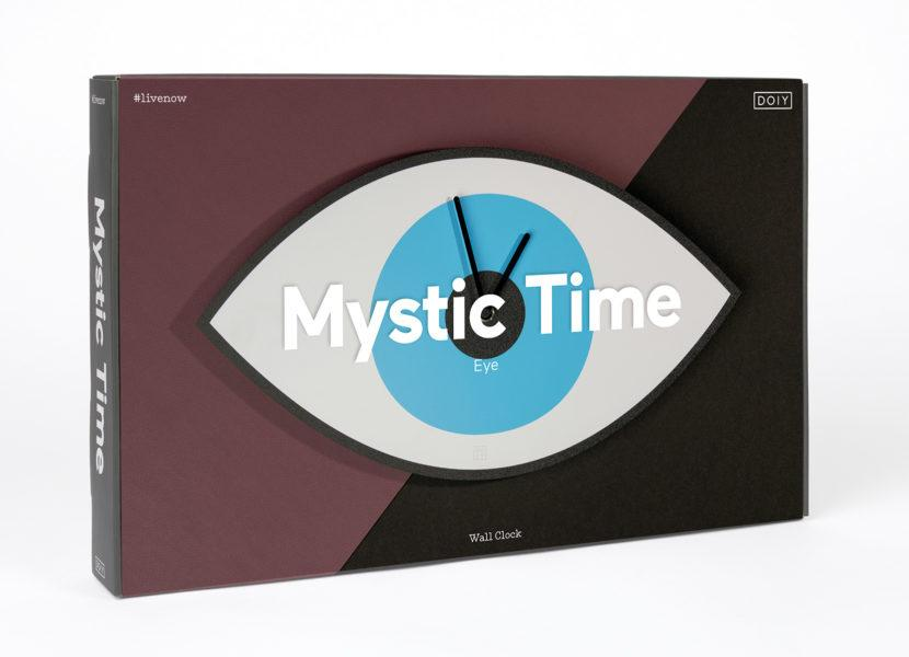 Mystic Time Eye Clock
