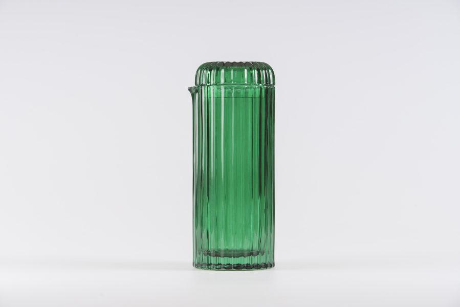 Saguaro Cactus Shaped Green Carafe