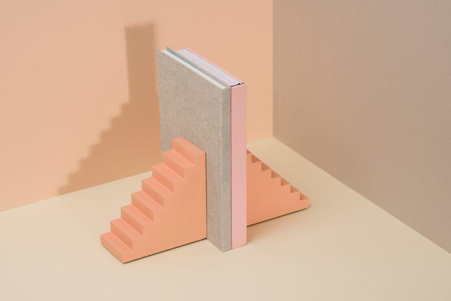 Scala Concrete Stair Bookends