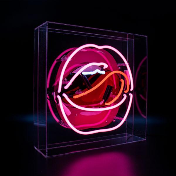 Anchor Acrylic Neon Light Box with Graphic