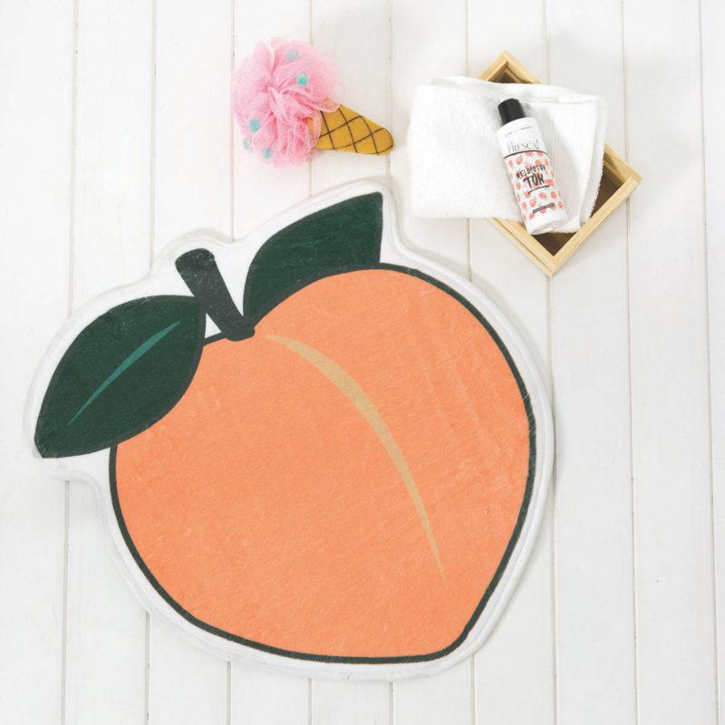 Juicy Peach Bath Mat