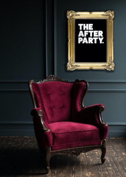 Typography Art Print - The After Party