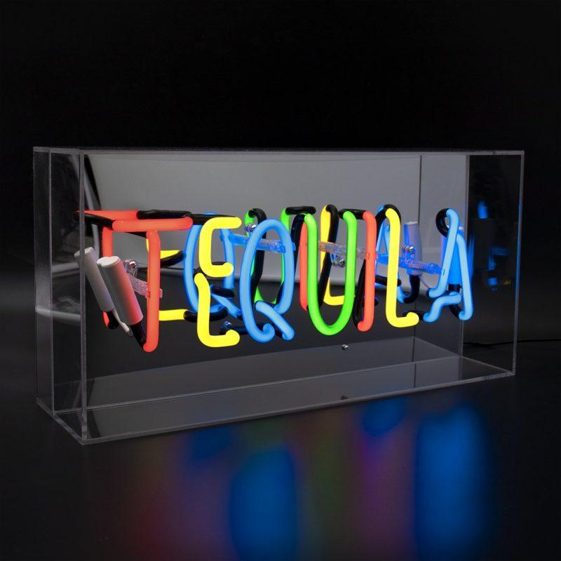 Tequila Acrylic Neon Light Box
