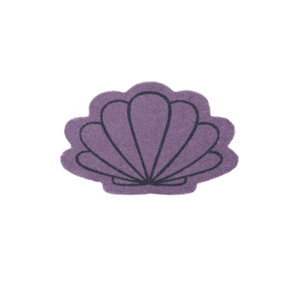 Purple Shell Doormat