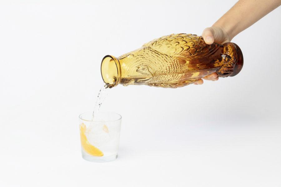 Cockatoo Glass Carafe - Honey