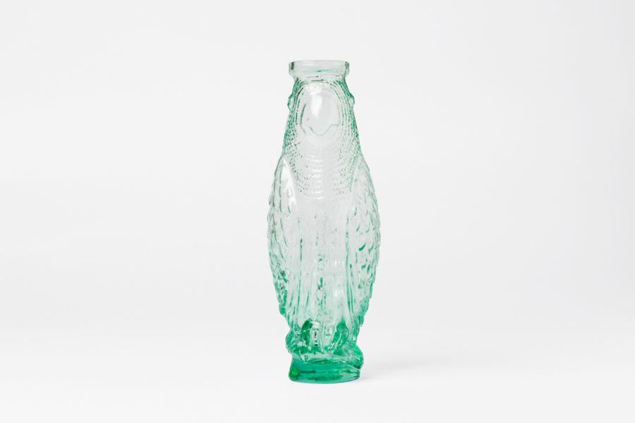 Cockatoo Glass Carafe - Mint Green