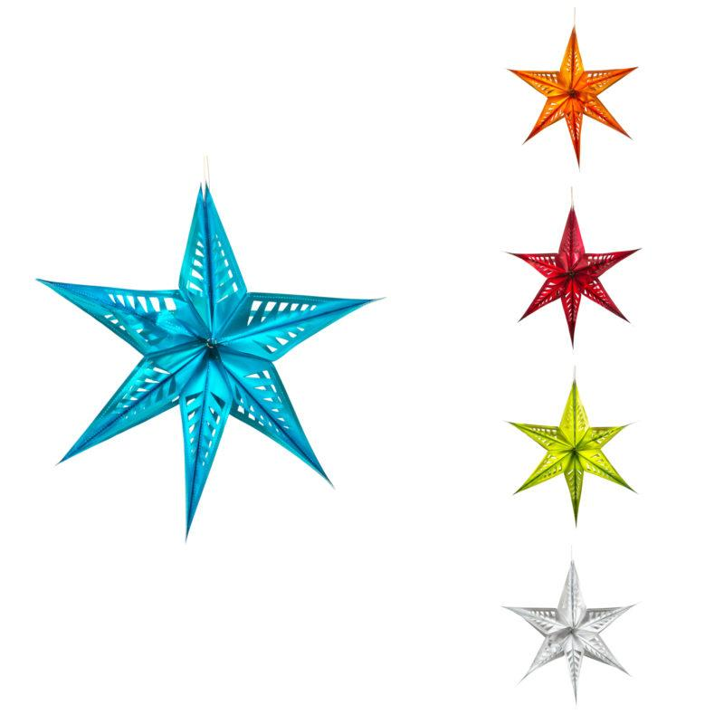 Large Yellow Star Hanging Decoration