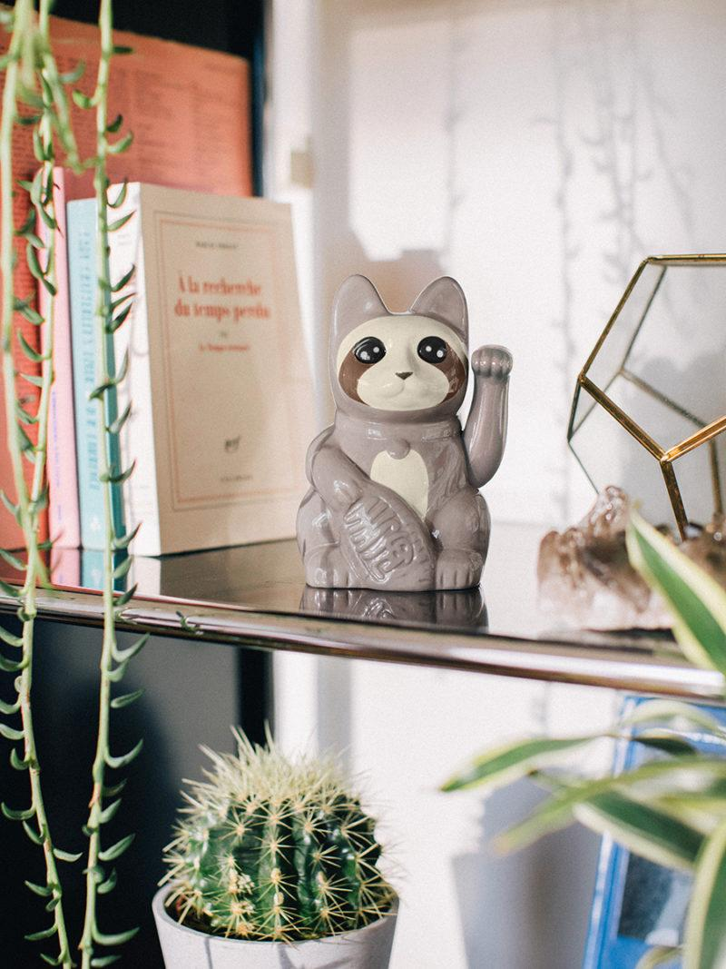 Sloth Lucky Cat