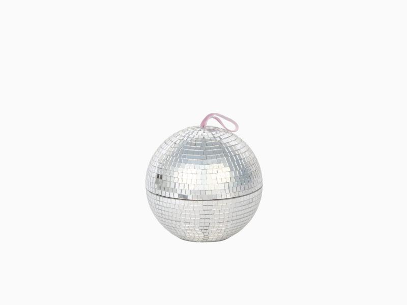 Disco Ball Jewellery Box with Mirror