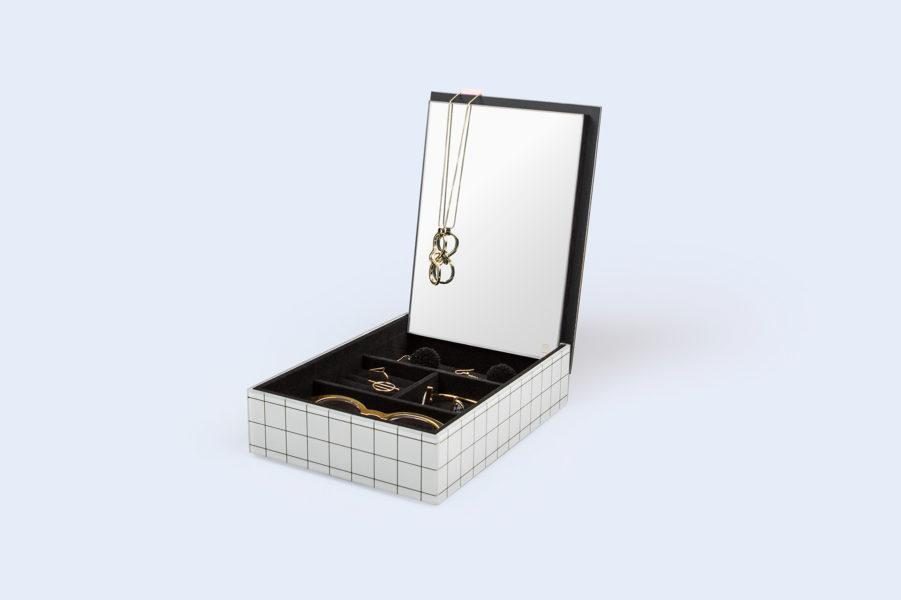 The Pool Jewellery Box with Mirror