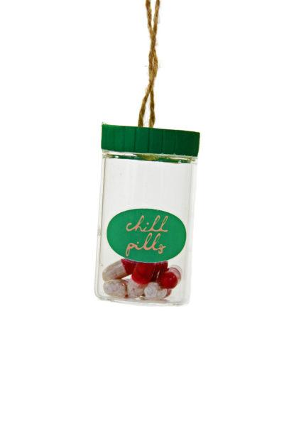 Chill Pills Canister Christmas Decoration
