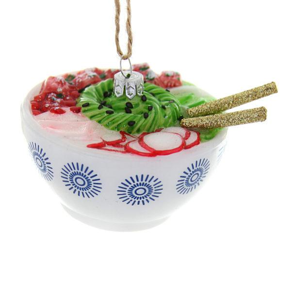 Poke Bowl Christmas Tree Decoration