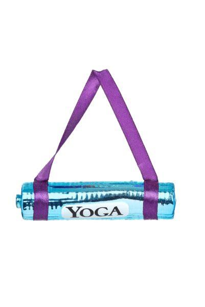 Yoga Mat Glass Decoration