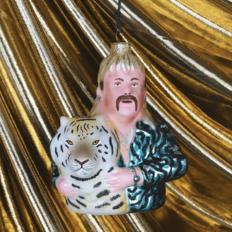 Who doesn't need a Tiger King Decoration in their life!