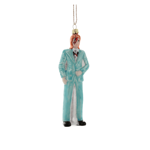 David Bowie Full Body Christmas Tree Decoration