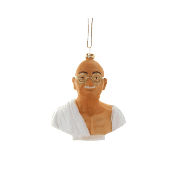 Ghandi Christmas Decoration