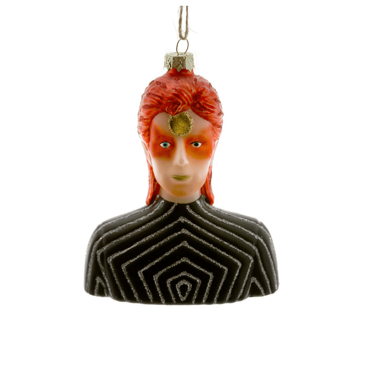 Ziggy Christmas 2020 Ziggy Stardust Christmas Tree Decoration by Cody Foster from The