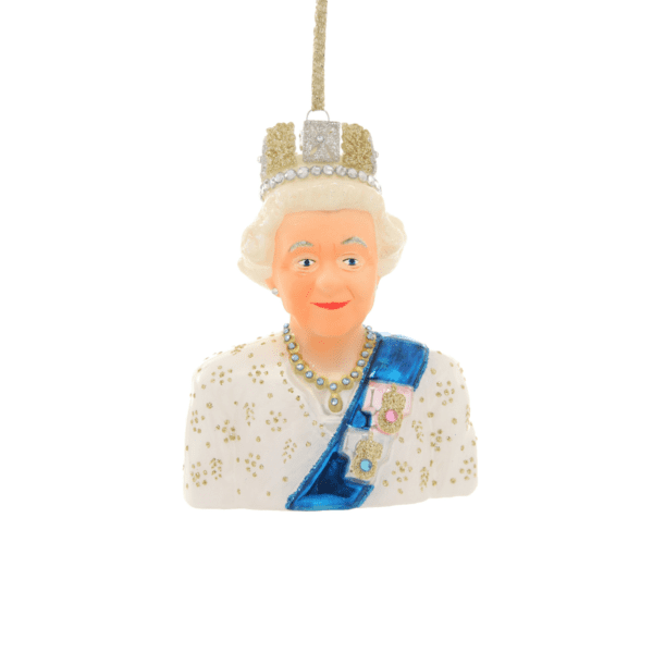 Queen Elizabeth Christmas Decoration