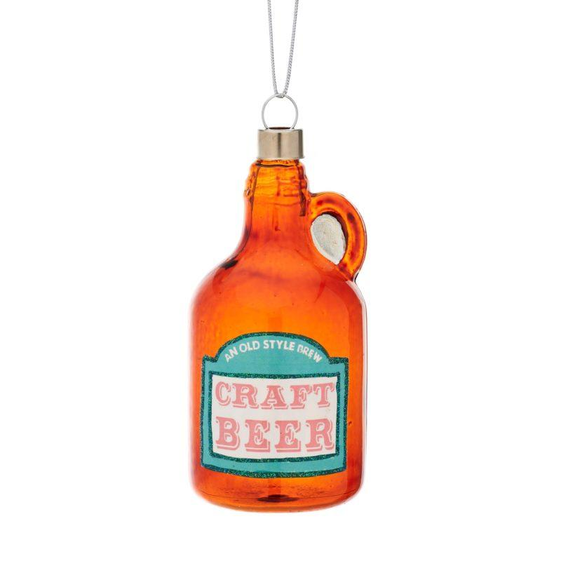 Craft Beer Bottle Christmas Tree Decoration