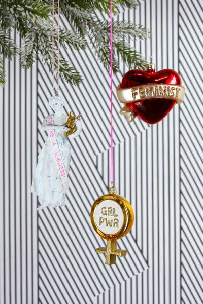 Girl Power Christmas Decoration