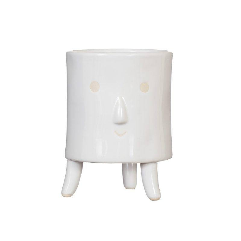 Little Smiley Face Leggy Planter