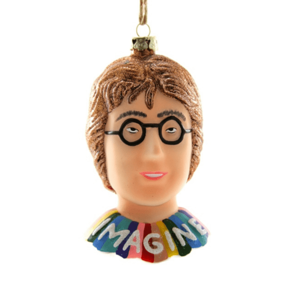 John Lennon Christmas Decoration