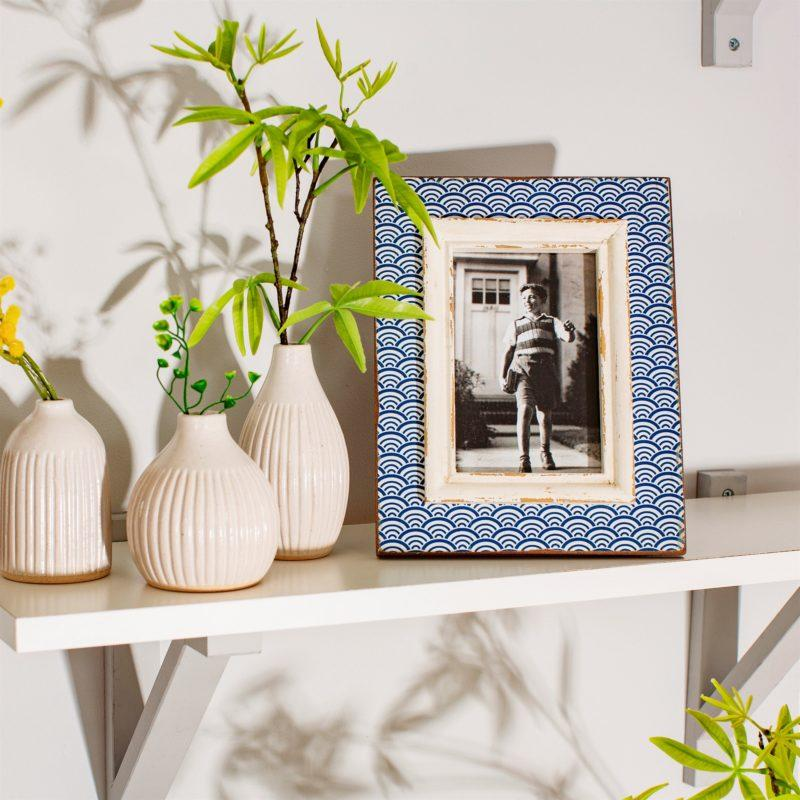Blue Wave Picture Frame 6x4""