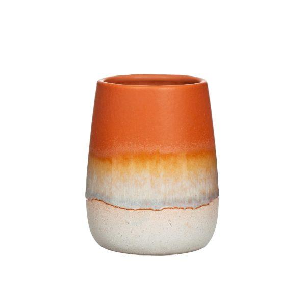 Mojave Glaze Terracotta Bathroom Tumbler
