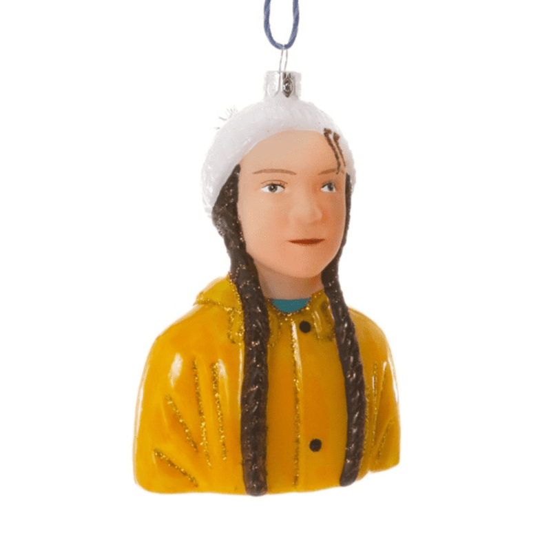 Greta Thunberg Christmas Decoration