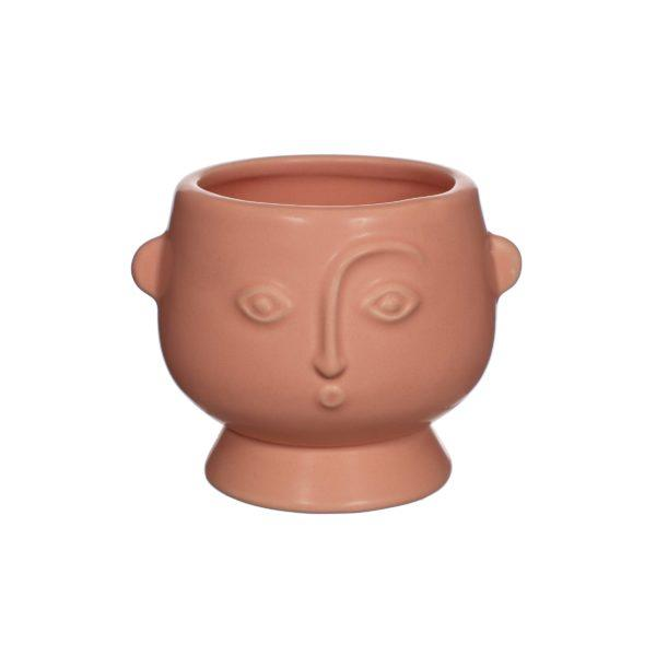 Small Face Planter - Matt Pink