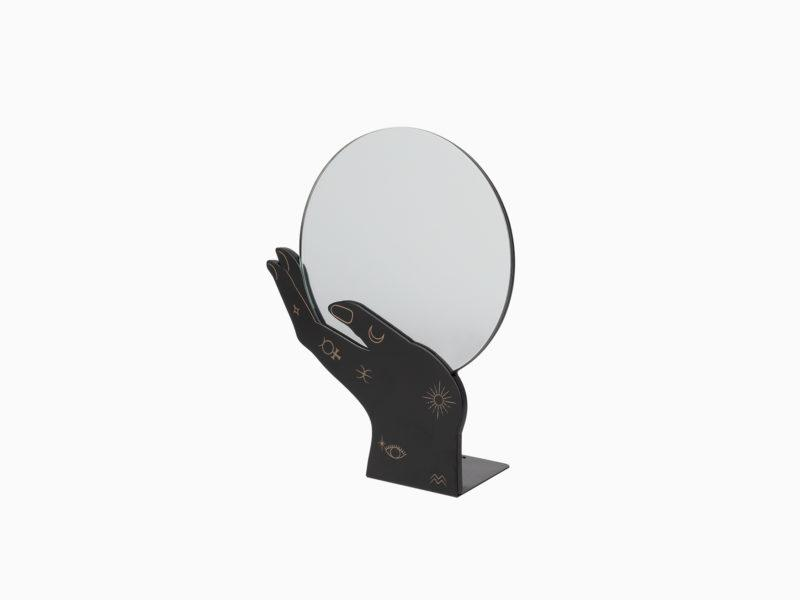 Psychic Hand Table Mirror