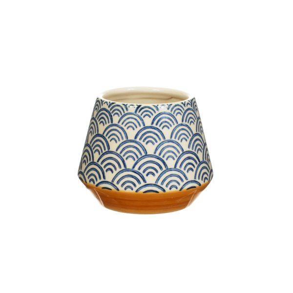 Blue Wave Planter - Small