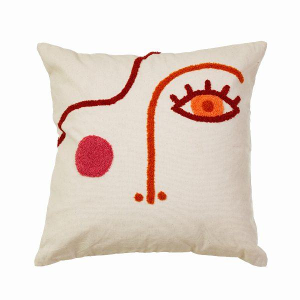 Abstract Face Cushion