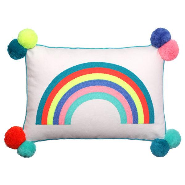 Over The Rainbow Cushion with Tassels