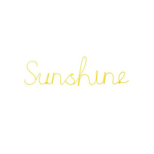 Sunshine Wire Word Wall Sign