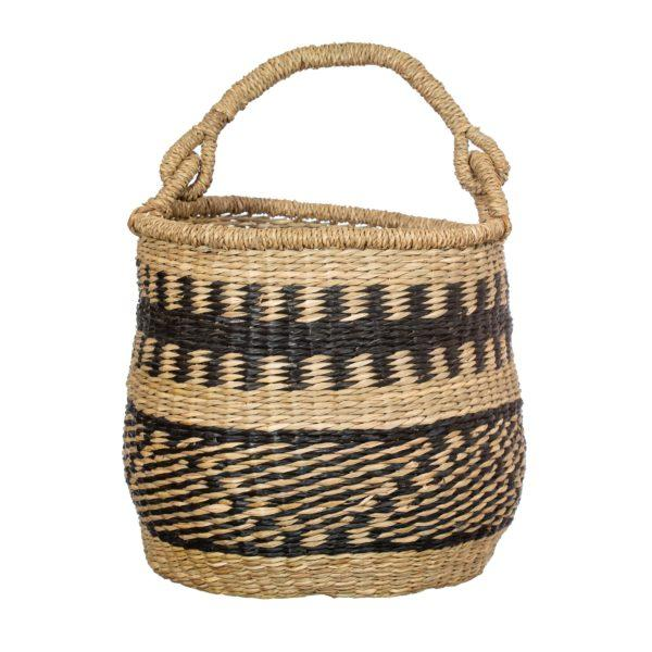 Terracotta Tassel Seagrass Basket