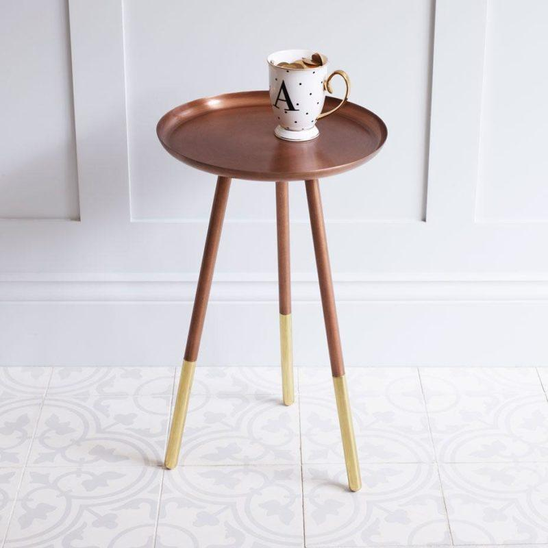 Occasional Table Brass